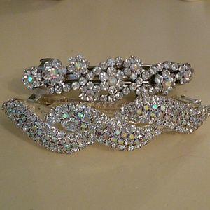 Accessories - Rhinestone barrettes